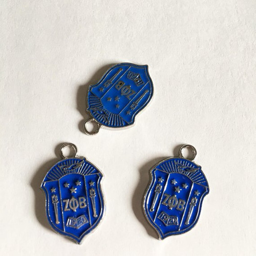 Zeta Phi Beta Shield Charm