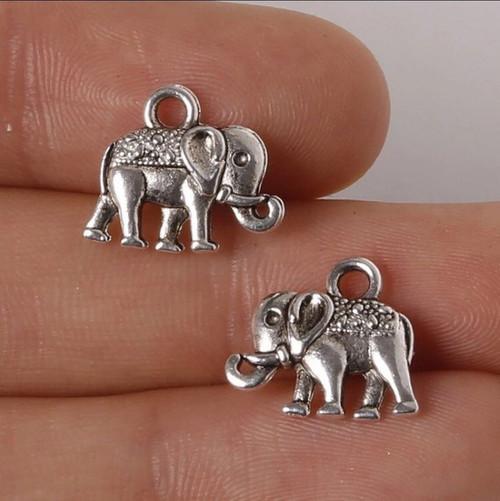 Mini Elephant Charm