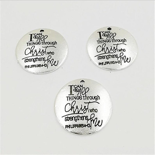 I Can do all things through Christ Charm