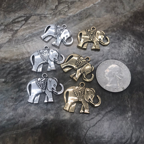 Elephant charms (priced per elephant)