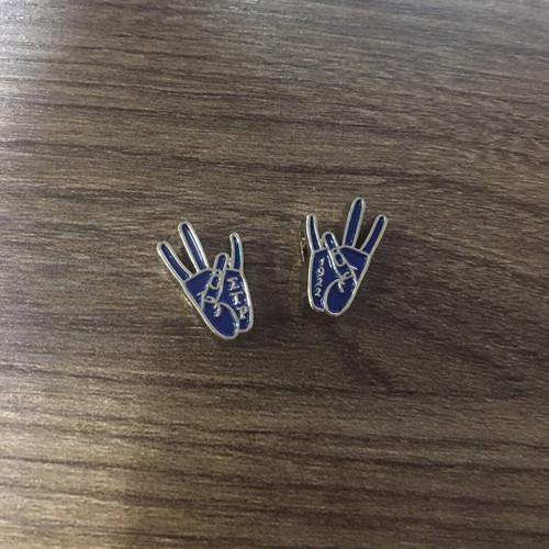 Sigma Gamma Rho  Hand Sign Bead
