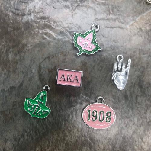 Pink & Green Set #3