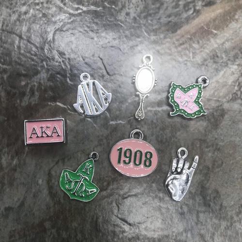 Pink & Green Set #4
