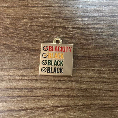 Blackity Black Charm