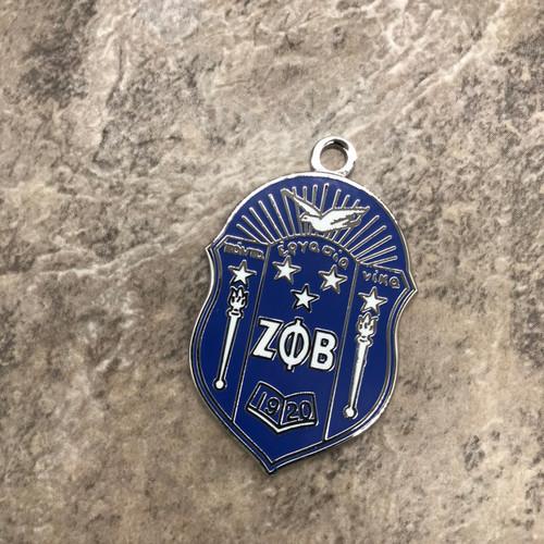 Zeta Phi Beta Shield Charm 2