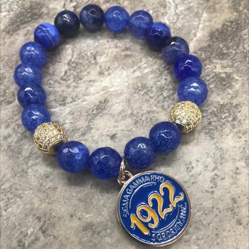 Sigma Gamma Rho Bracelet -SG107