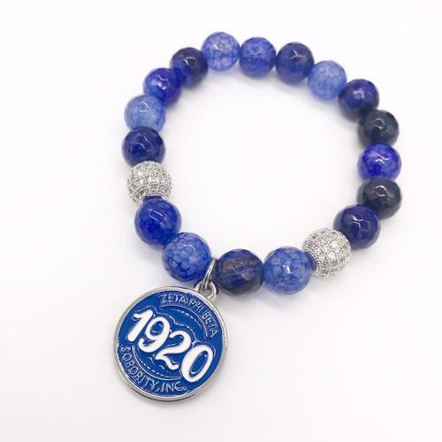 Zeta Phi Beta Bracelet, 1920 circle -Z107