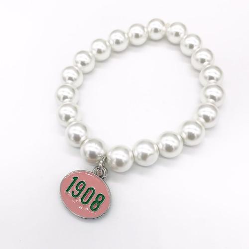 Alpha Kappa Alpha Pearl Bracelet -AK101