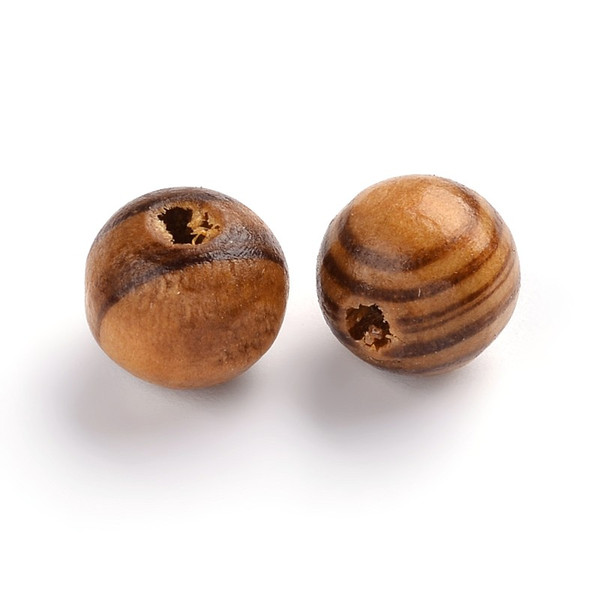 Burly Wood Beads, Round, 10mm, 100 pcs