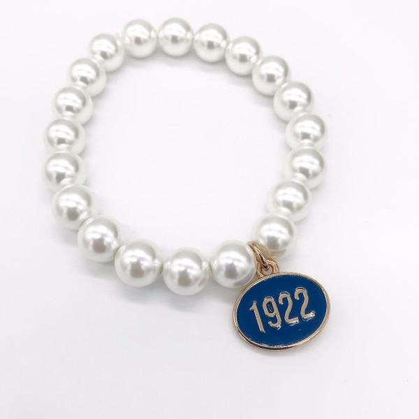 Sigma Gamma Rho Pearl Bracelet -SG105