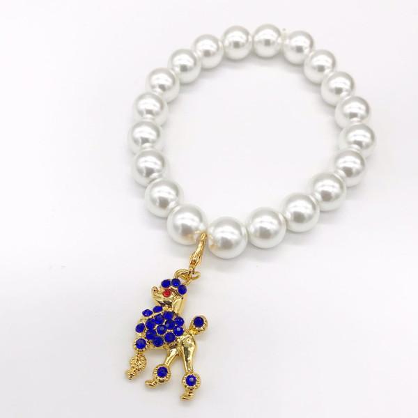 Sigma Gamma Rho Pearl Bracelet -SG104