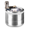 AEROSPACED 4 PIECE GRINDER/SIFTER WITH MILL HANDLE