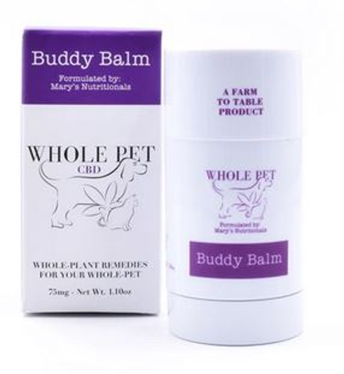 Mary's Nutritionals Whole CBD Pet Buddy Balm