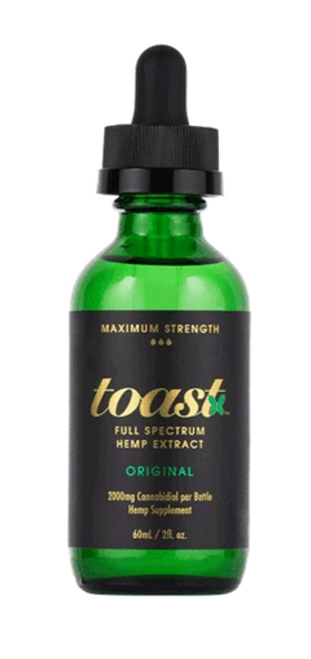 Original - Toast Full Spectrum CBD Extract - High MG - 2000mg