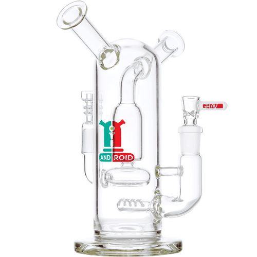 "Grav Labs 8"" Android Flare Stemless Water Pipe Bong"