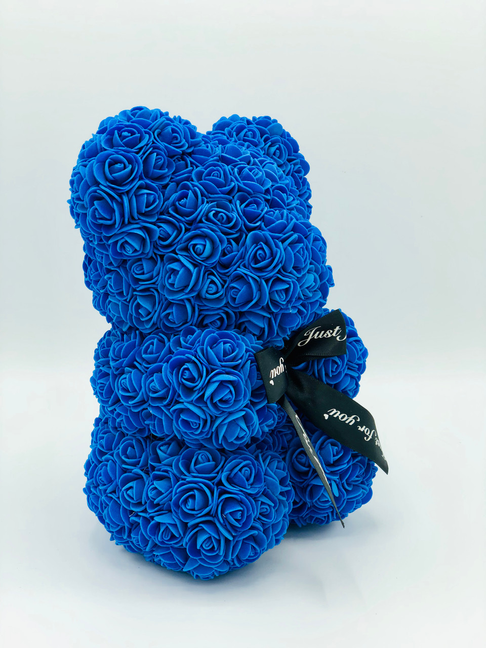 SOLD OUT - Mini Blue Rose Bear