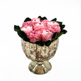 Roses in a Mercury Vase - Fresh