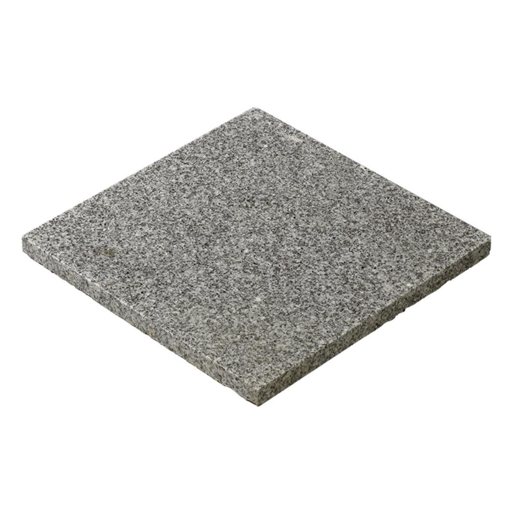 Silver Grey Granite Paving Wet