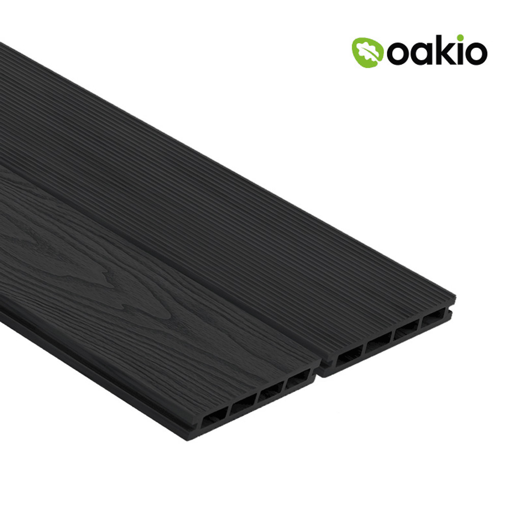 Oakio Composite Decking - Dark Grey