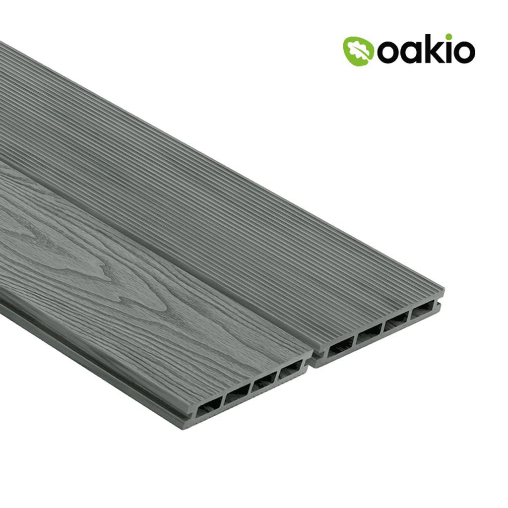Oakio Composite Decking - Smoke White