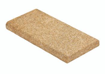 Yellow Granite Coping Stone Wet