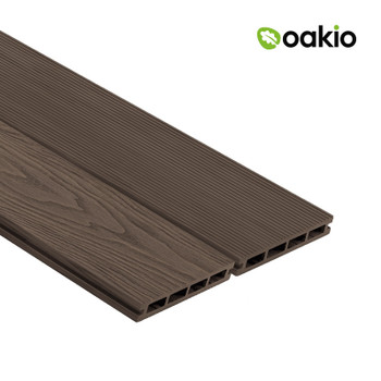 Oakio Composite Decking - Dark Brown