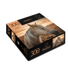 Horse 300 Piece Puzzle with Sunset Design  473593