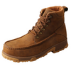 "Twisted X 6"" Work Boot - Distressed Saddle MXCC001"
