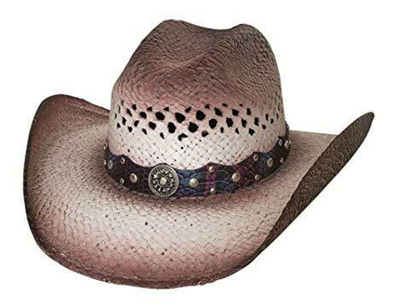 7130707856f Pretty Girl Straw Cowgirl Hat by Montecarlo Hats 2975 - Cowtown ...