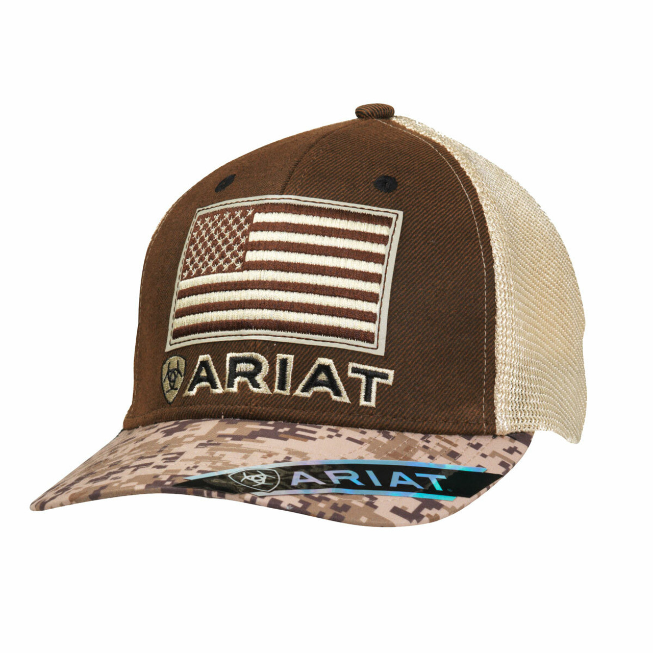 f6cb103a2b7e7 Men s Ariat Digital Camo Cap by M F 1510502 - Cowtown Cowboy Outfitters