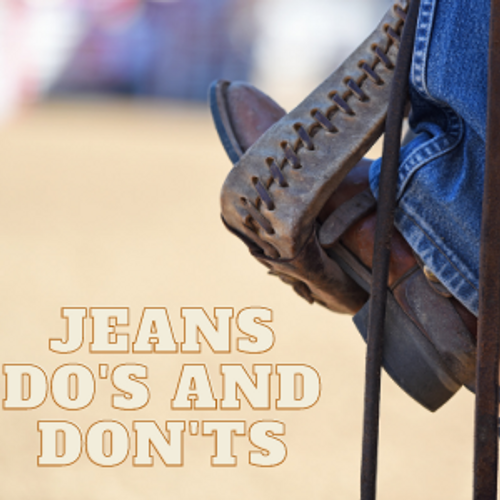 Jeans....Do You Know How to Wear Them?
