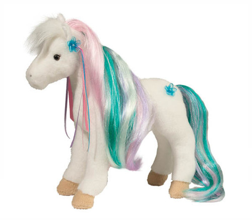 Rainbow Princess Horse Stuffed Animal By Douglas Company 763