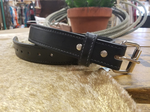 "1 1/2"" Hand Crafted Extra Thick Bullhide Belt by H. Miller & Sons 755"
