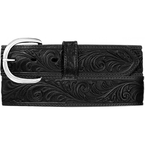 Men's Western Scroll Tooled Belt By Justin 53903