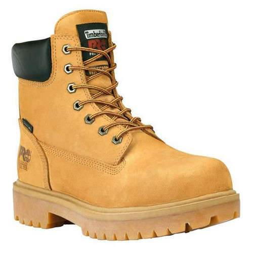 """Men's Insulated 6"""" Direct Attach Leather Steel Toe Waterproof Boot by Timberland TB065016713"""