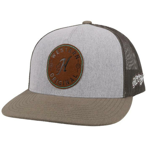 Spur White/Black Baseball Cap By Hooey 2114T-GYCH