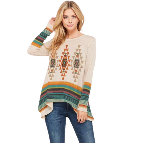 Aztec Tunic by Phil Love T719G10397