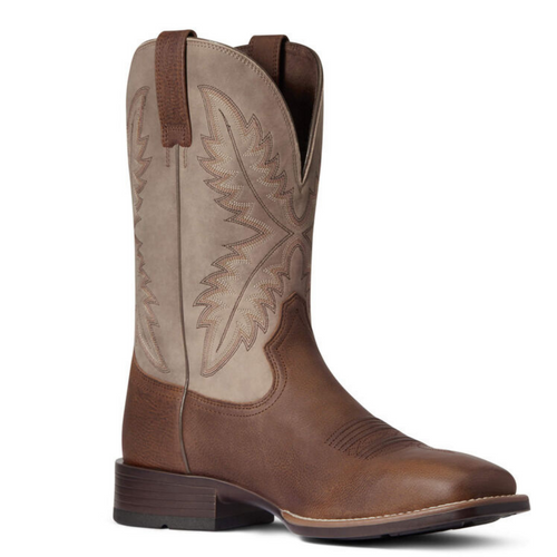 Men's Rawly Ultra Barrel Brown Western Boot By Ariat 10038370