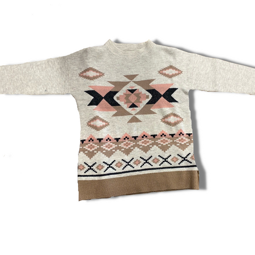 Pullover Aztec Sweater by Giftcraft 407342