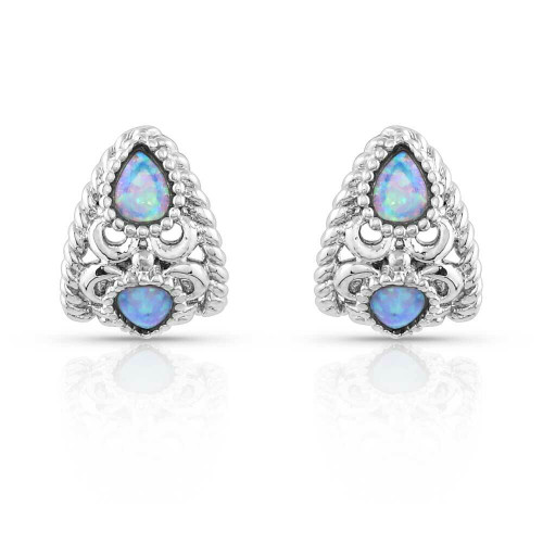 Stunning and Stacked Filigree Earrings by Montana Silversmiths ER5119
