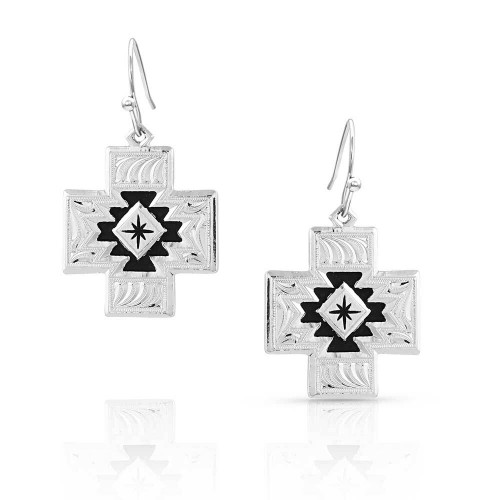 Within Geometric Earrings by Montana Silversmiths ER5068