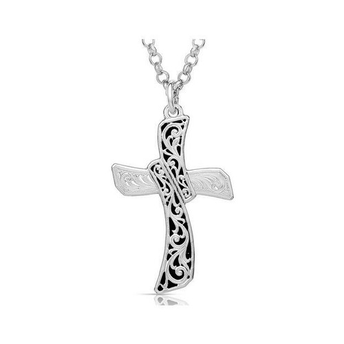 Revelation in Wilderness Necklace by Montana Silversmiths NC4705
