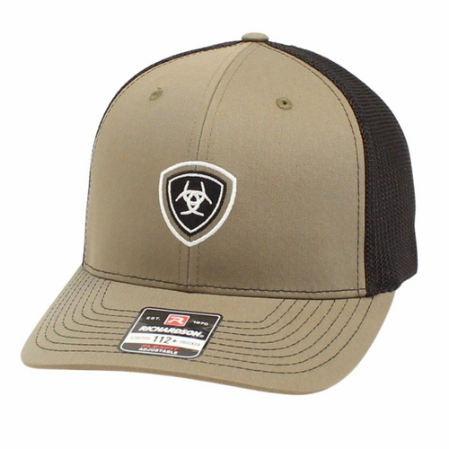 Ariat Embroidered Logo Men's R112 Baseball Cap in Olive Green A3000173248