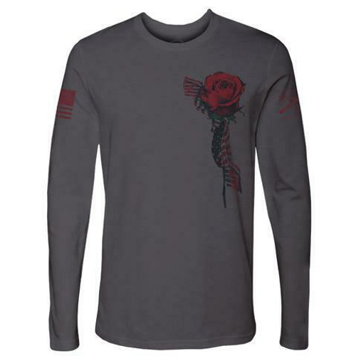 Women's Glory Rose Long Sleeve Shirt by Grunt Style GS4399
