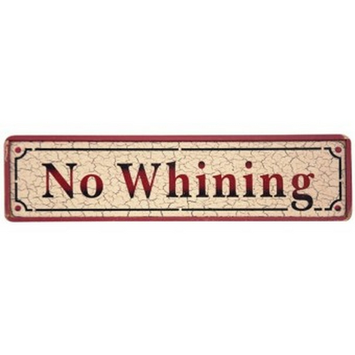 No Whining - CK/R 147