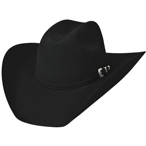 Legacy Black Wool 8X Cowboy Hat by Montecarlo Hats 0518BL