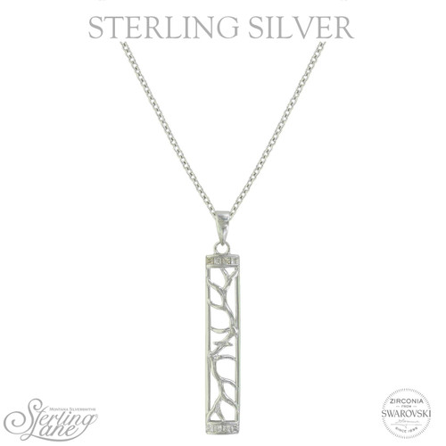 Sterling Lane Embracing the Wild Necklace by Montana Silversmith SLKTNC3705