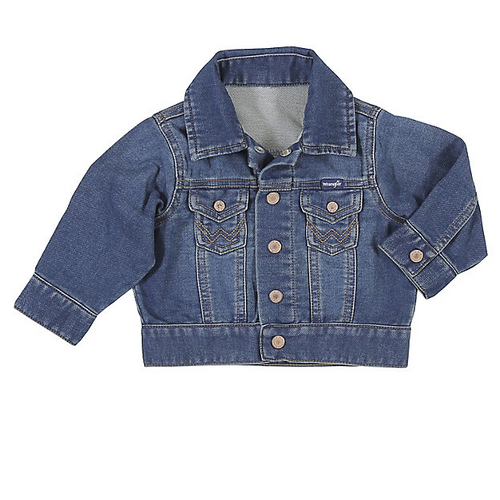 Infant Long Sleeve Classic Denim Jacket By Wrangler PQK126D