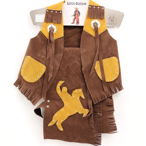Children's Rodeo Chaps and Vest by M&F 5083002