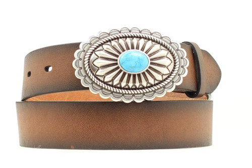 Women's Ariat Turquoise Fashion Belt by M&F A1512002